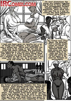 Drawn interracial cartoon sex about good old days