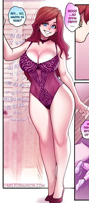 Your big booty puts mine to shame at these ass comics