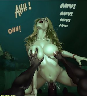 Interracial porn comics where my wifes mouth, cunt and ass are opened for business
