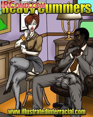 Gorgeous interracial sex comix action with a dirty blonde