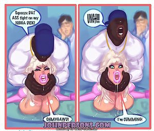 Your wife is a fucking slut for black dick! Oh, at this john persons porn he shot his load right up my ass