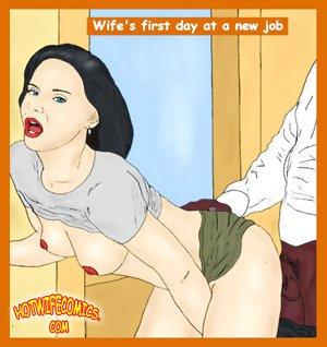 Comic sex compilation by hotwifecomics.com