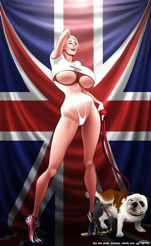 Erotic cartoons parodies on Marie-Claude Bourbonnais and new korean music star Psi