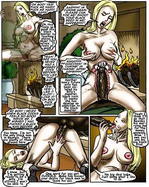 Sexy ebony cartoon porn and massive BBC