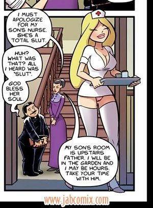 Are you looking for a busty hot nurse? See nurse Stacy jab comics now