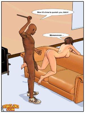 Teen dream about black master. Interracial comics by interracial-comics.com