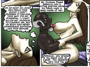 Interracial sex cartoons. Its the truth, its like your tight pussy was made for my big black cock